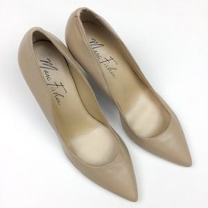 Marc Fisher Nude Pumps Heels Size 6 1/2